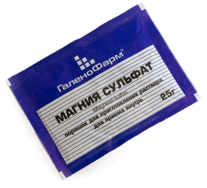 магнезия для очищения кишечника инструкция