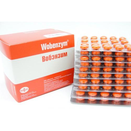 инструкция таблеток вобэнзим