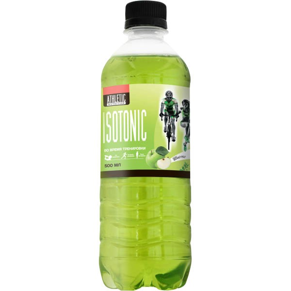 ATHLETIC NUTRITION ISOTONIC 500 МЛ Яблоко