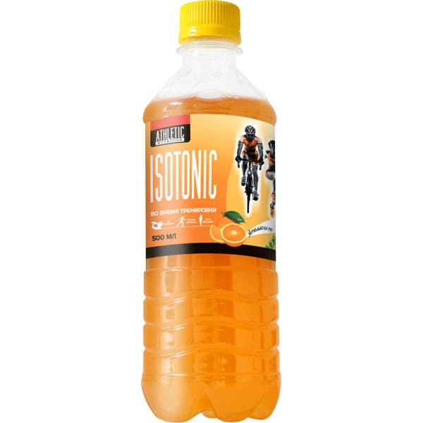 ATHLETIC NUTRITION ISOTONIC 500 МЛ апельсин