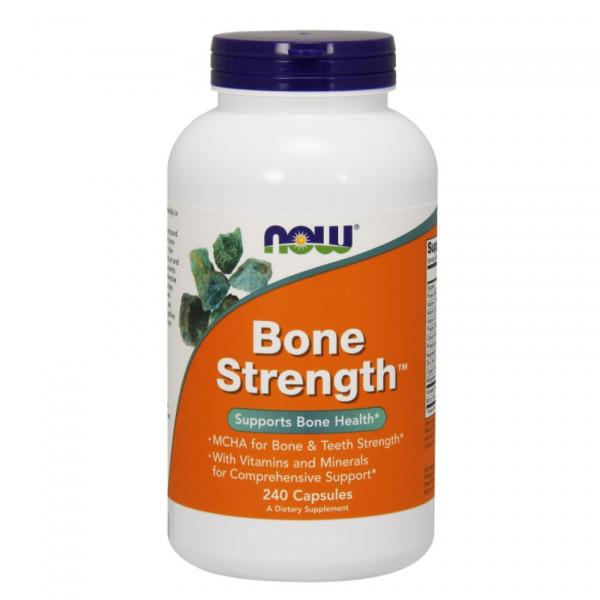NOW Bone Strength описание состав инструкция цена