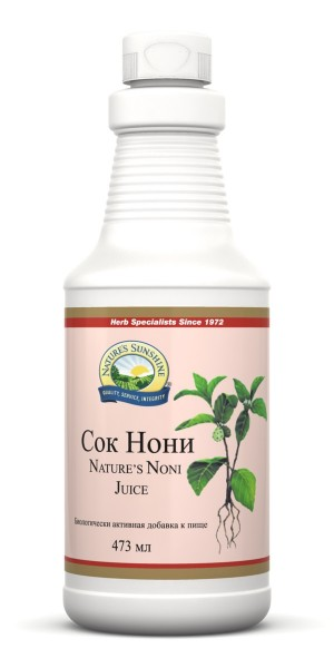 Нэйчез Сок Нони (Nature's Noni Juice) NSP